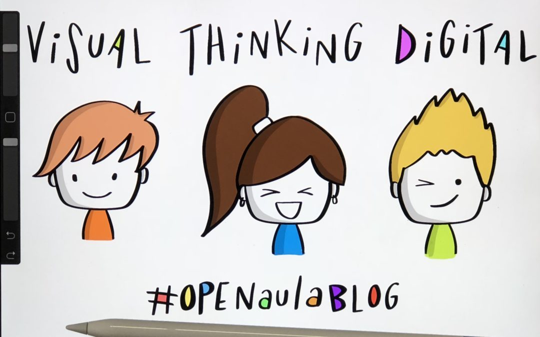Visual thinking digital en OPENaulaBLOG Madrid
