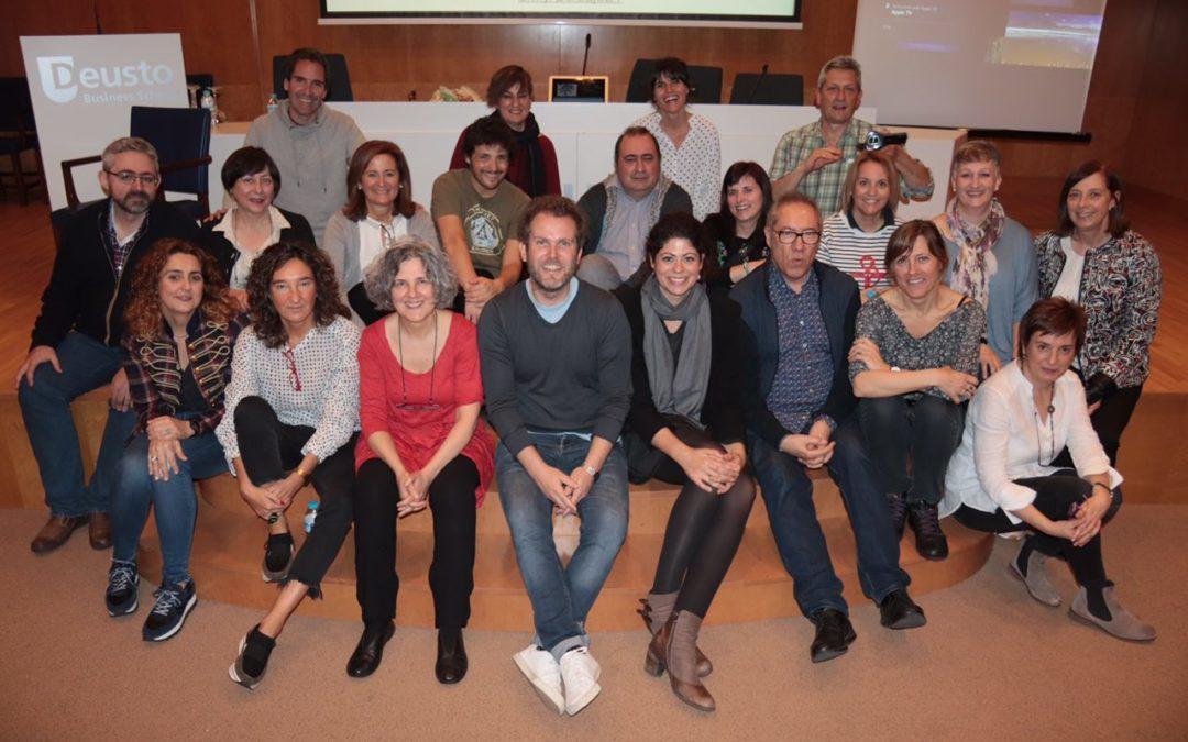 Crónica del #OPENaulaBLOG Bilbao: Treking de altura: Paisajes de aprendizaje con Loli García y Alfredo Hernando
