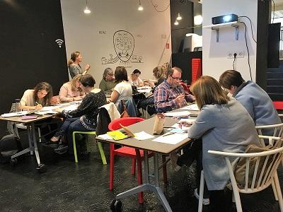 """Crónica del #OPENaulaBLOG Bilbao: """"Érase una vez… la escuela"""""""